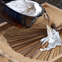 Дървени модели за леярски отливки